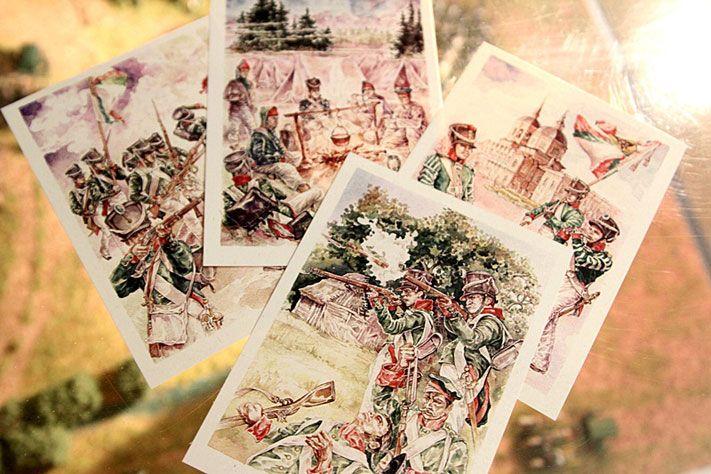 Набор открыток о войне 1812 года