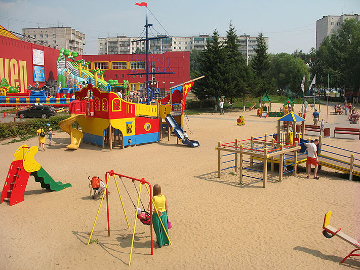 Обращение жильцов об установке детской площадки