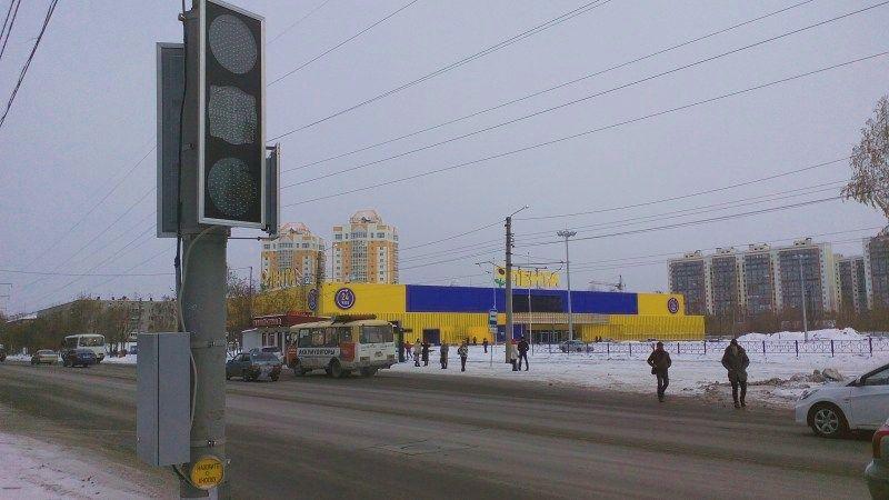 ВТомске завершили строительство 2-го ТЦ «Лента»