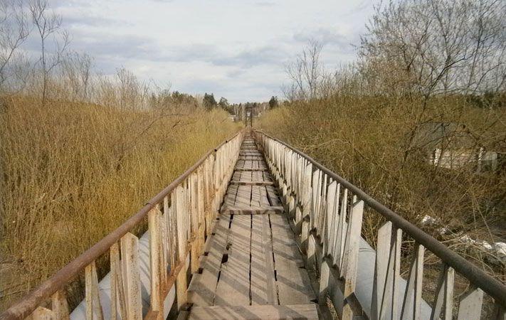 однако при всем этом мост