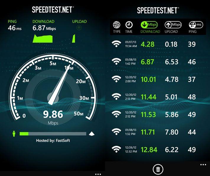 тест на скорость интернета бесплатно - фото 7