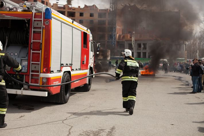 Мужчина, женщина и ребенок погибли при пожаре в дачном доме под Томском