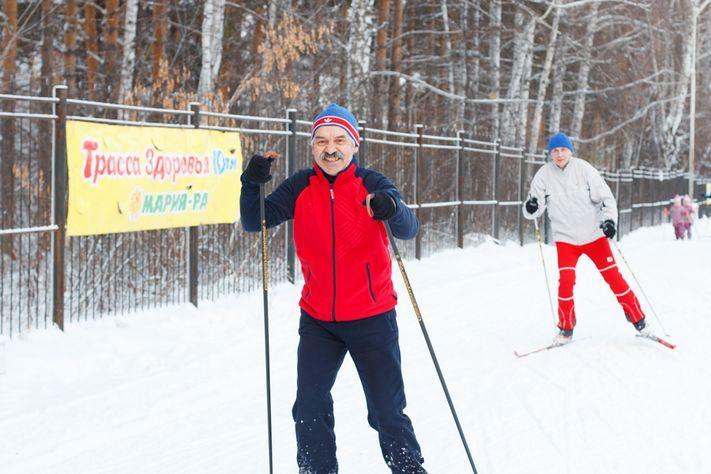 Томичам предлагают принять участие вгонке «Лыжня России-2017»