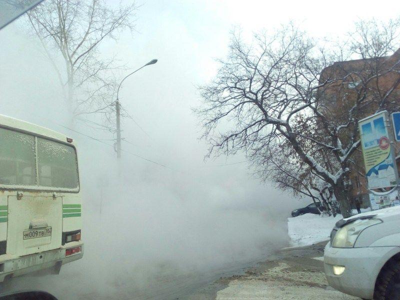 ВТомске 60 домов остались без воды итепла из-за коммунальной трагедии