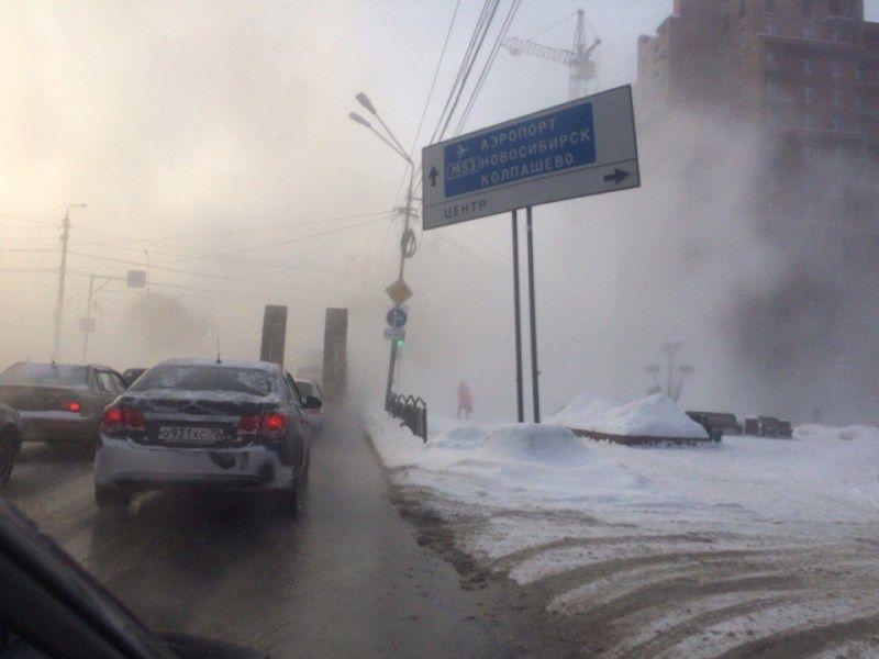 Из-за трагедии натеплосети движение поНечевскому закрыли насутки