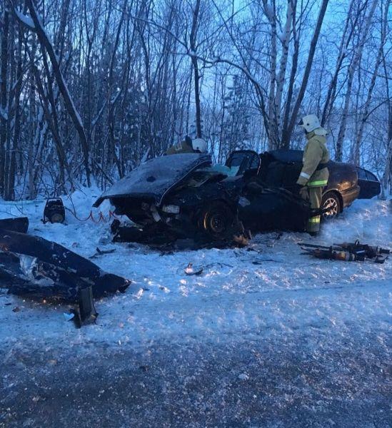Двое погибли вутреннем ДТП натрассе Стрежевой— Нижневартовск