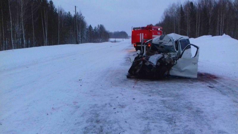 Натрассе Томск— Колпашево столкнулись автобус и«легковушка»: есть пострадавшие