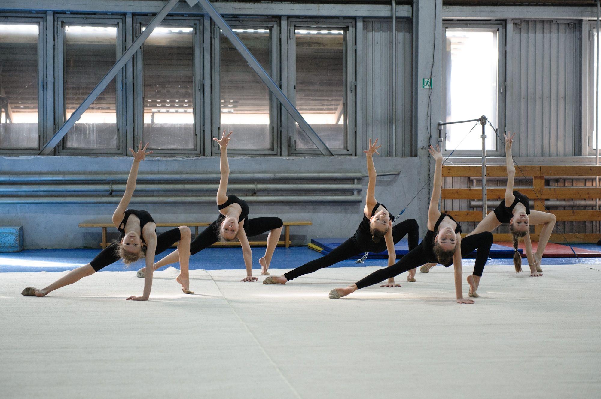 Первая в мире Высшая школа художественного движения была открыта в 1913  году в Санкт-Петербурге. Первый чемпионат СССР по художественной гимнастике  ... 57c668050a0b3