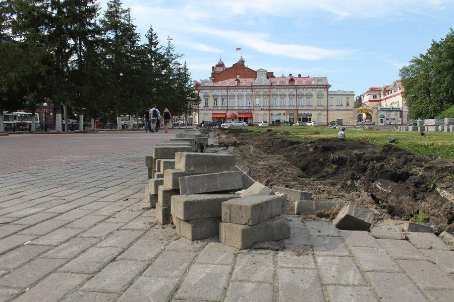 Прокуратура заинтересовалась проведенной реконструкцией на Новособорной в Томске