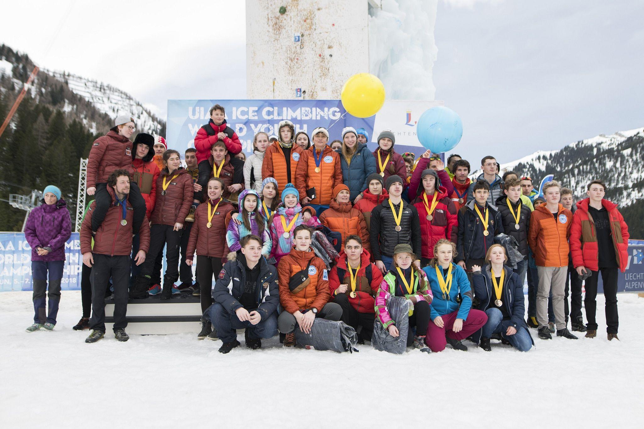 Томские дети заняли призовые места напервенстве мира поледолазанию
