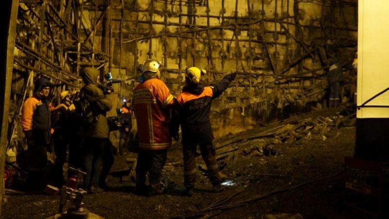 МЧС планирует закончить работы наместе пожара вКемерово кконцу дня