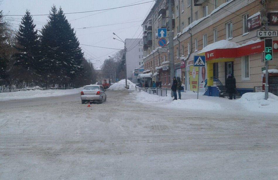 ГИБДД: шофёр, сбивший ребенка вцентре Томска, имел признаки опьянения