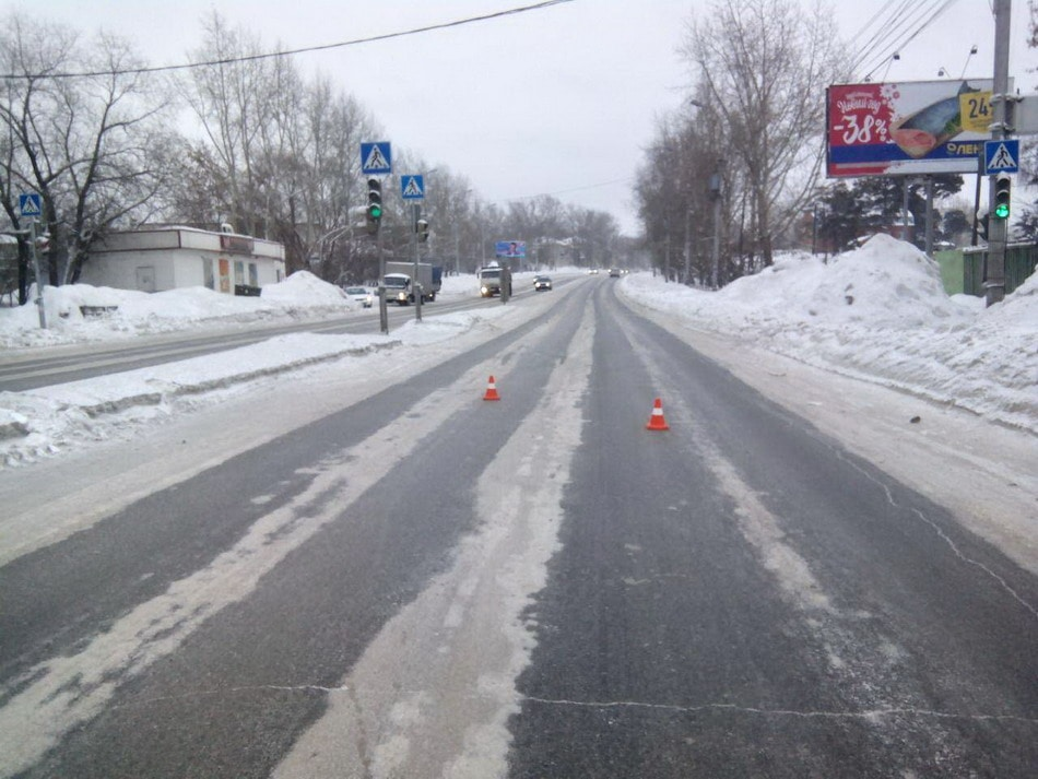 Девочка пострадала втройном ДТП савтобусом вТомске