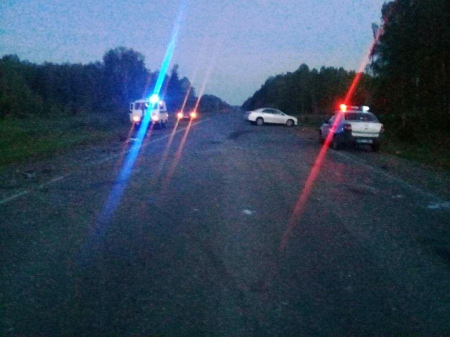 Один человек умер итрое пострадали вДТП натомской трассе