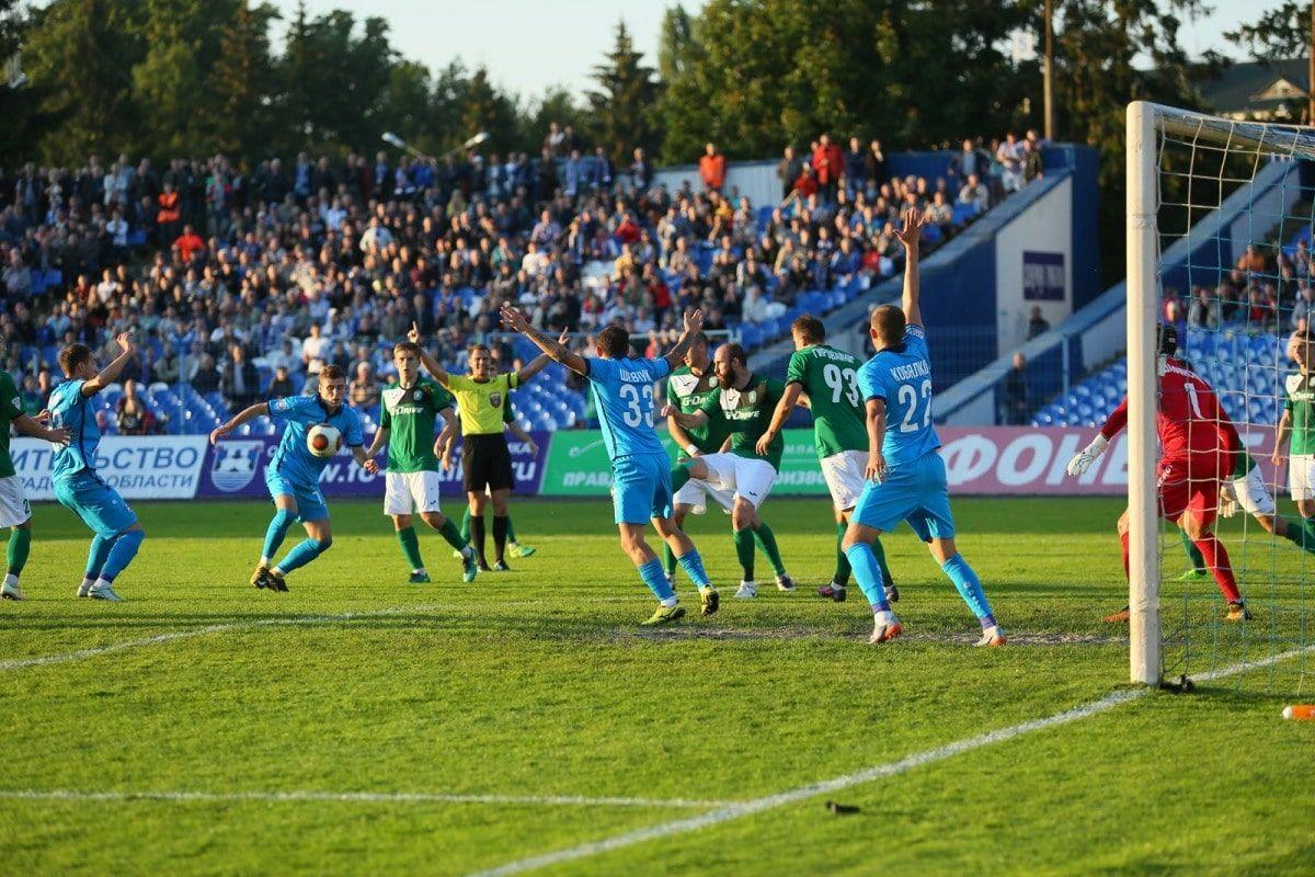 «Балтика» обыграла «Томь» в15-м туре Футбольной государственной лиги