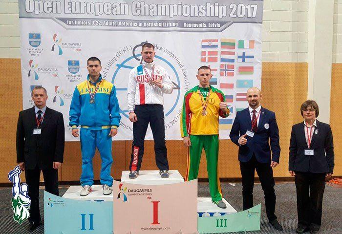 Томские гиревики одержали победу наЧемпионате Европы