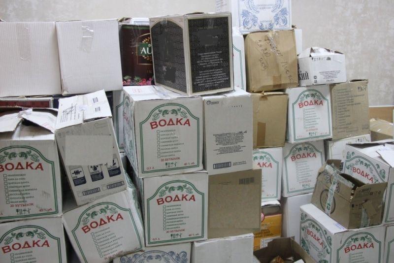 ВБратске изъяли 4 тысячи литров алкоголя, который продавали без лицензии