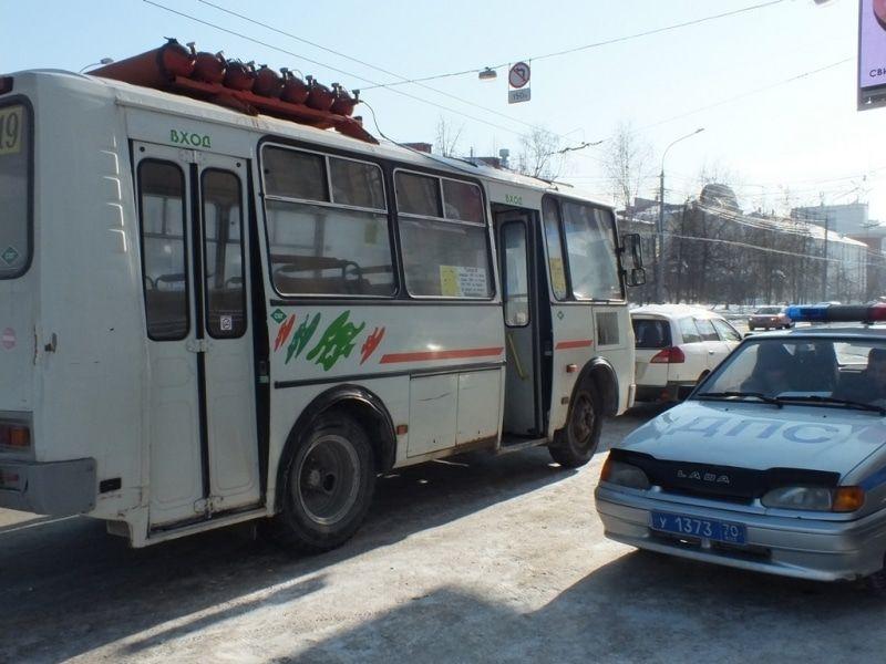 ВТомске схвачен нетрезвый шофёр маршрутного автобуса