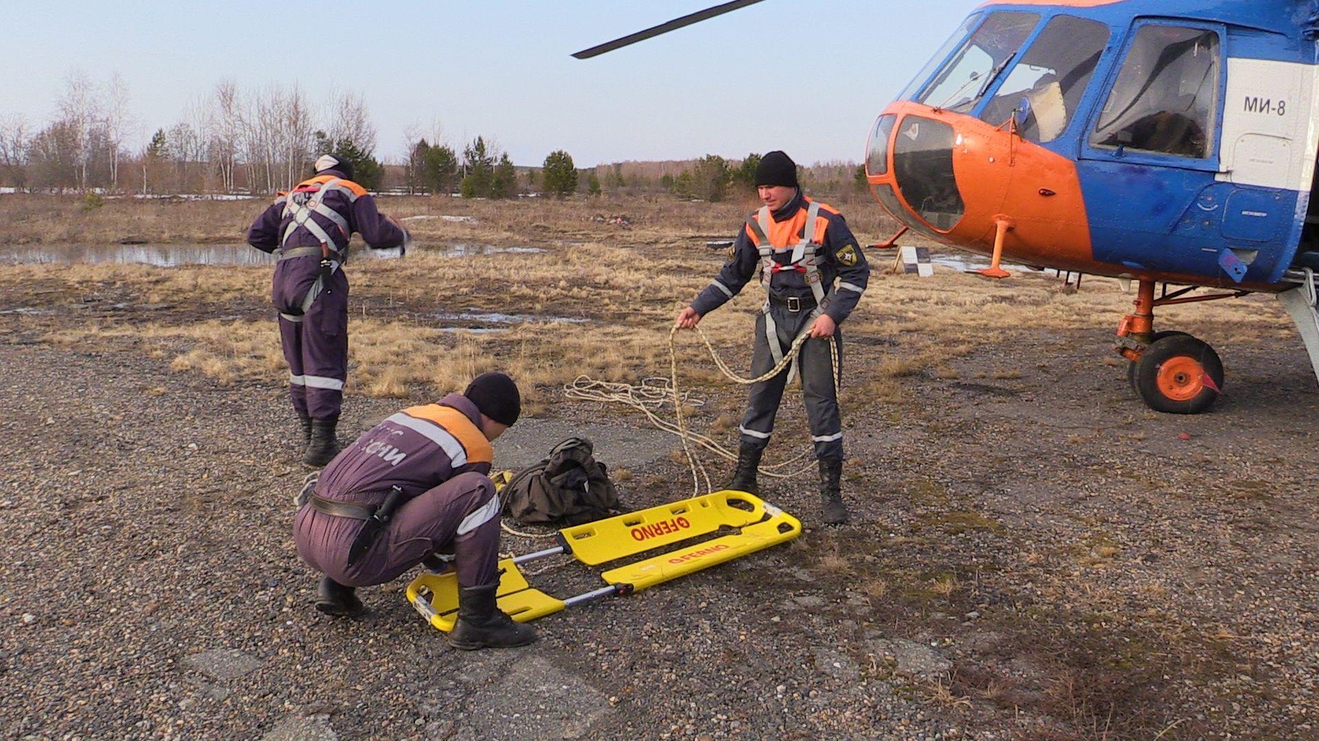 Томские врачи спасли пациента с инсультом из охотничьей избы