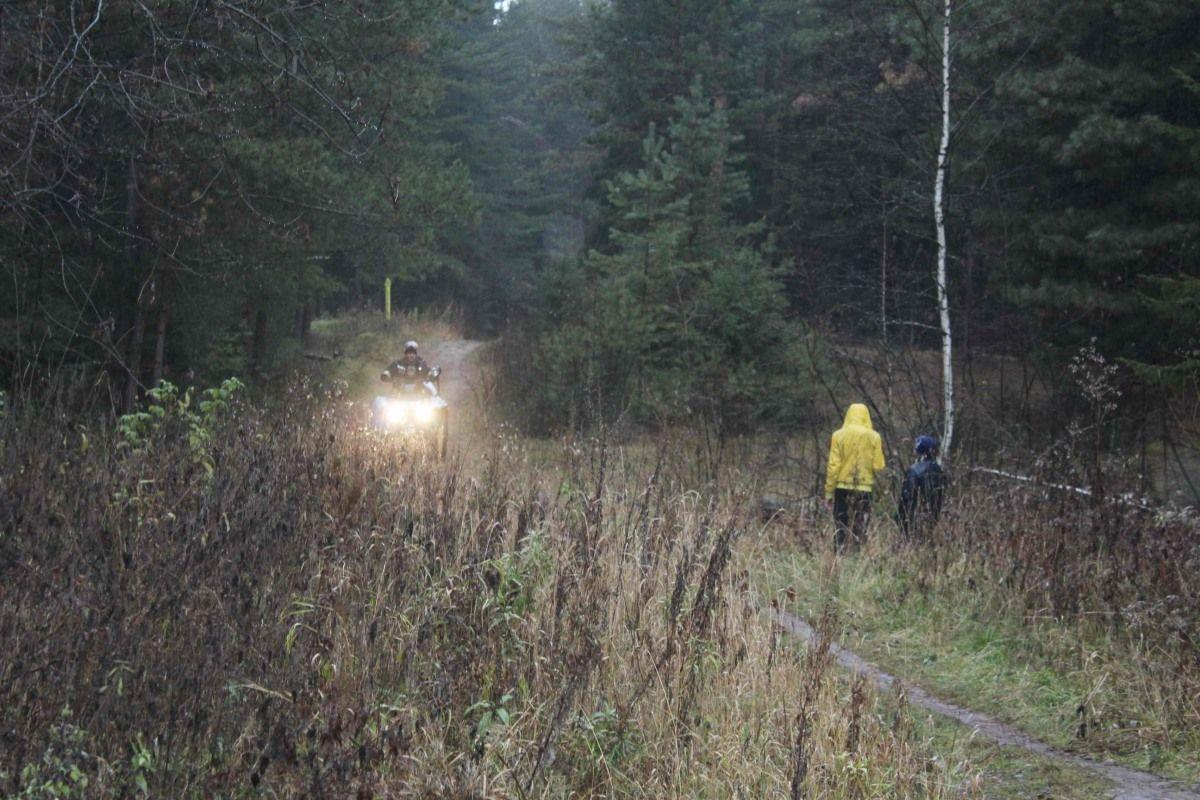 Томские пожарные нашли заблудившуюся в лесу женщину с двумя детьми