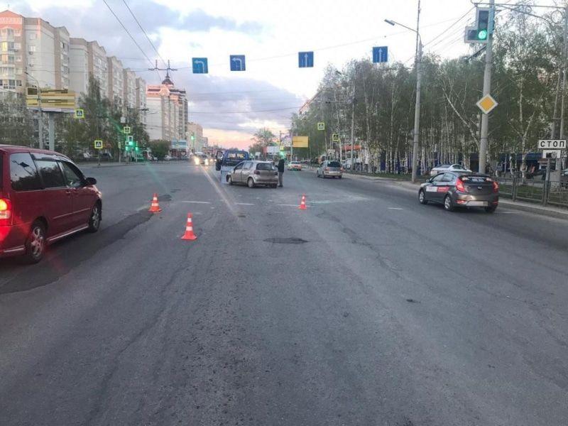 Шестилетняя девочка пострадала при столкновении четырех автомобилей в Томске