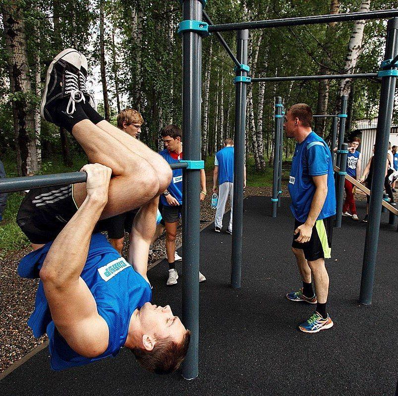 В Томске появится еще одна площадка для воркаута